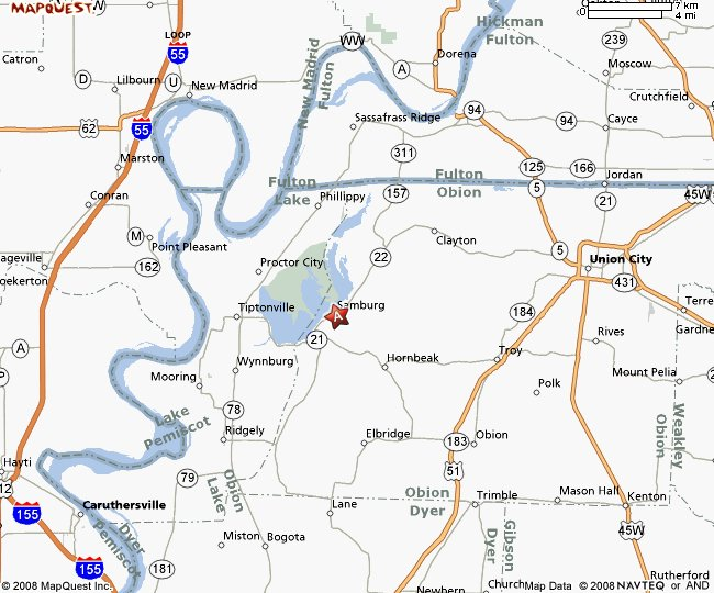 Reelfoot Lake Tennessee Map.Southshore Family Resort At Reelfoot Lake Samburg Tennessee